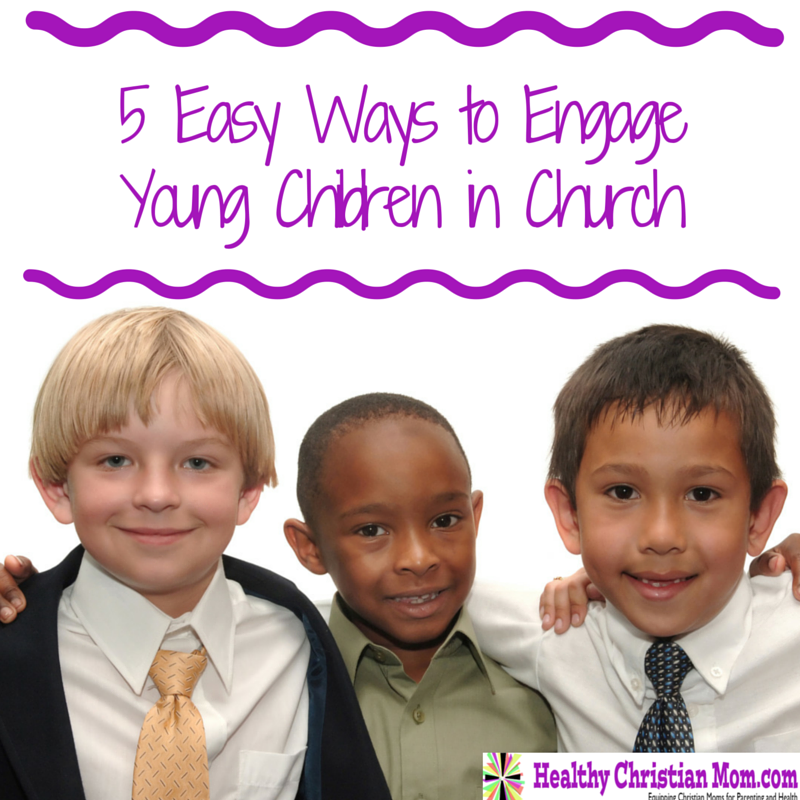5 Easy Ways to Engage Children in Church Service