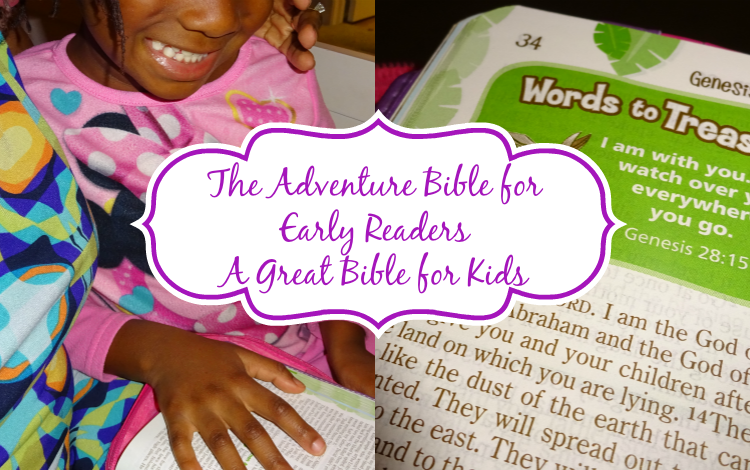 The Adventure Bible for Early Readers: Great Bible for Kids