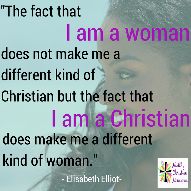 I am a Chrisitan Woman